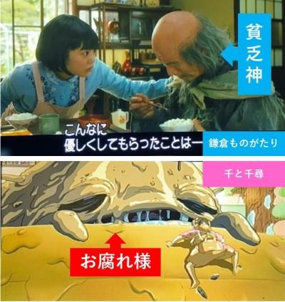 『鎌倉ものがたり』と『千と千尋の神隠し』が似てる理由を考察