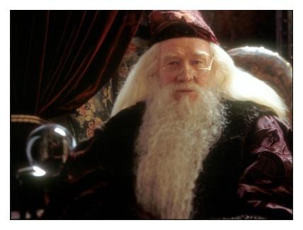 ハリーポッターでダンブルドアを演じたリチャード・ハリス