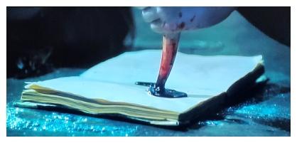 ハリー・ポッターと秘密の部屋のトムリドルの日記