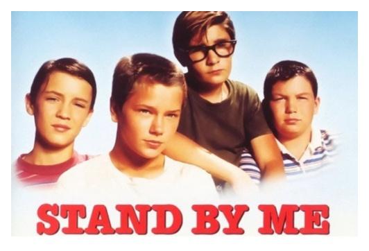 映画『スタンド・バイ・ミー』のポスター画像