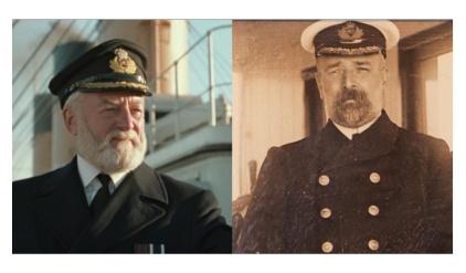 タイタニック号のスミス船長