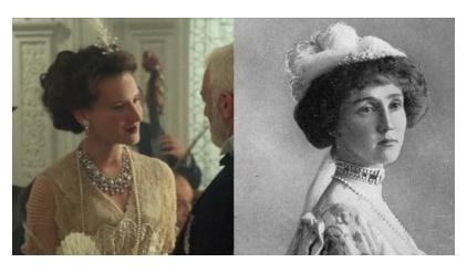 映画タイタニックの実在の登場人物ノエル・レズリー、ロテス伯爵夫人
