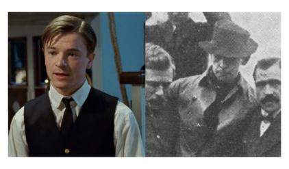 映画タイタニックの実在の登場人物ハロルド・ブライド無線士