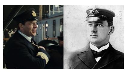 映画タイタニックの実在の登場人物ヘンリー・ワイルド航海士長