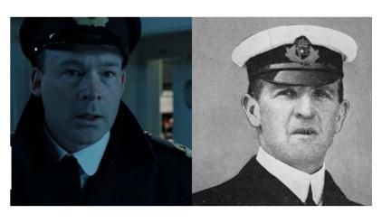 映画タイタニックの実在の登場人物ウィリアム・マードック