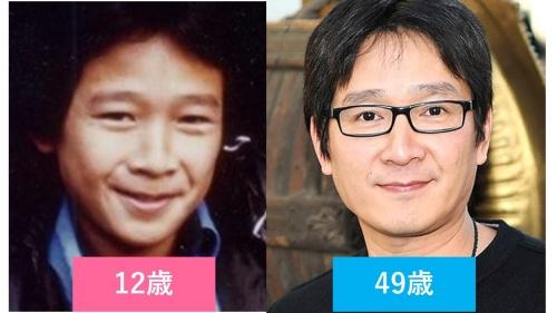 映画『グーニーズ』にデータ役だったジョナサン・キー・クアンの子役時代と現在の比較画像
